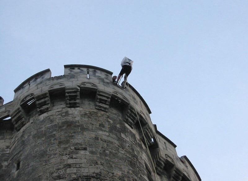 Descente en rappel La Rochelle EDHEC évènement