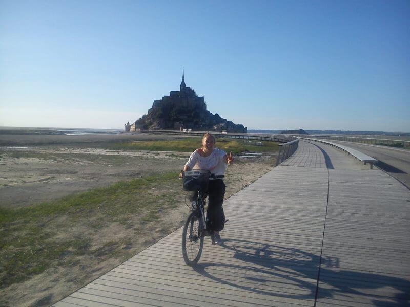 vélos à Pontorson