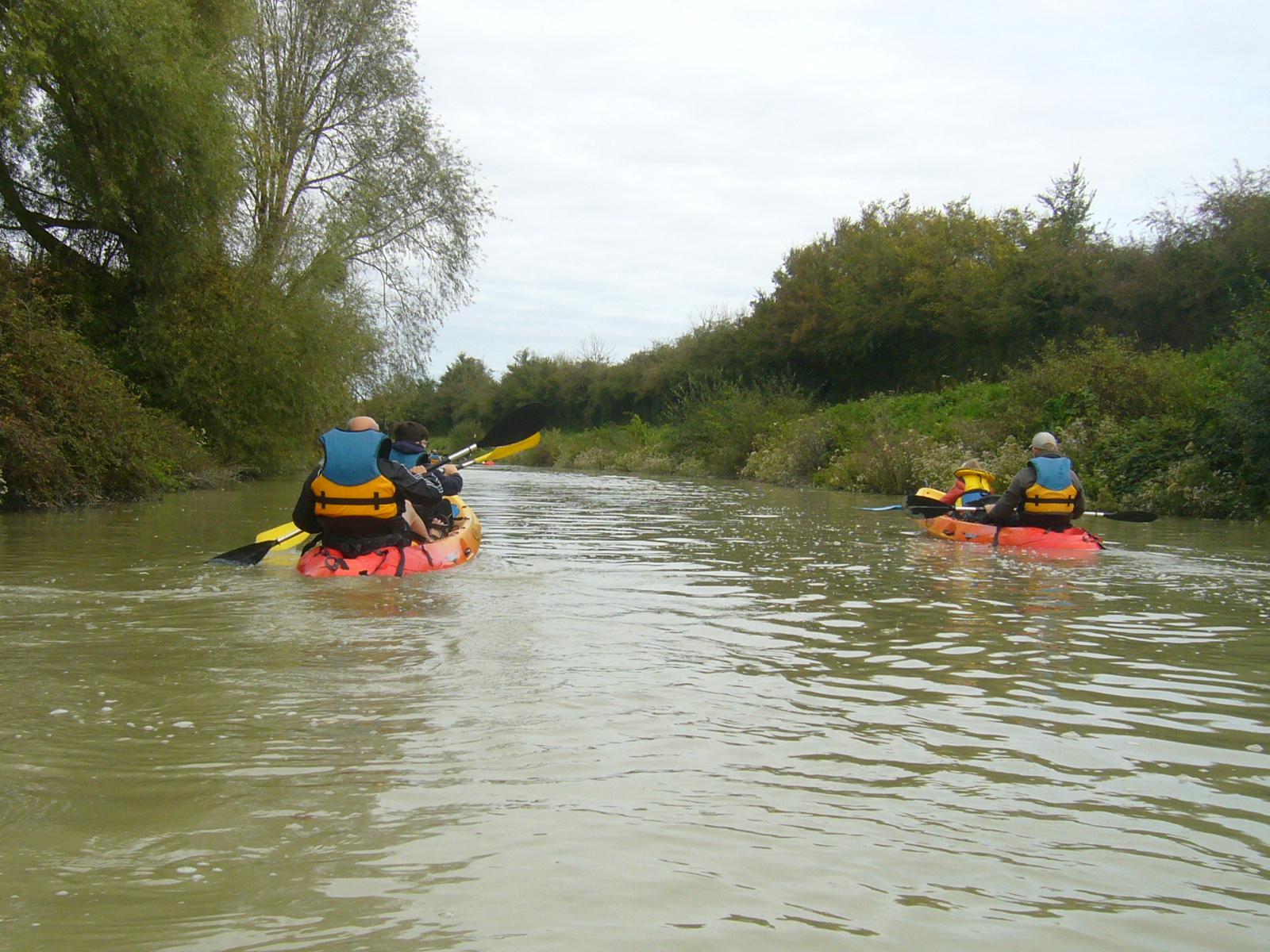 En kayak depuis Guépéroux
