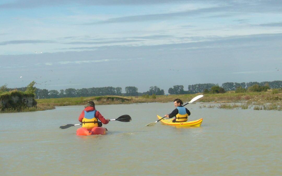 Balade en kayak pour les grandes marées du Mont Saint Michel !