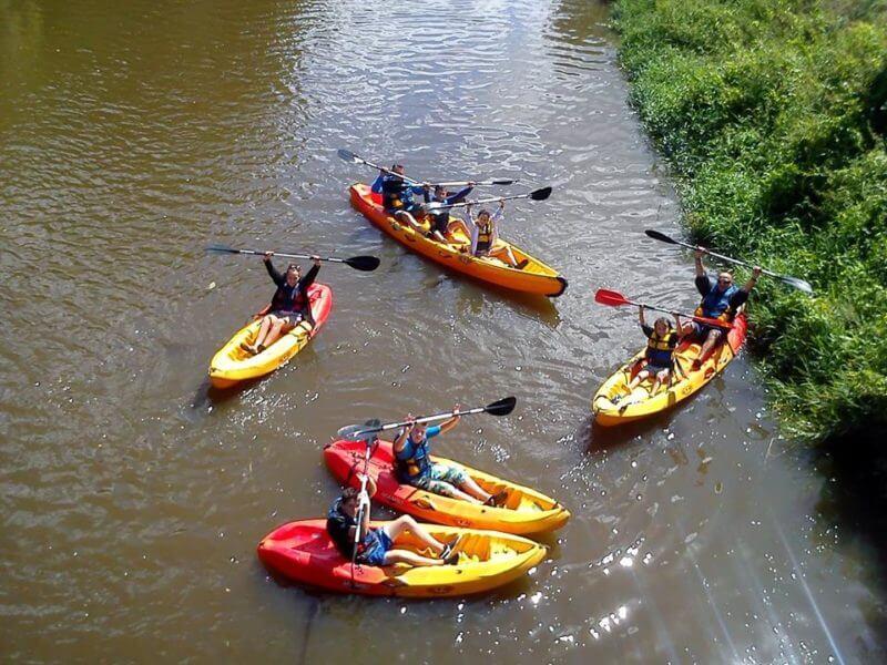 Kayaks à Pontorson
