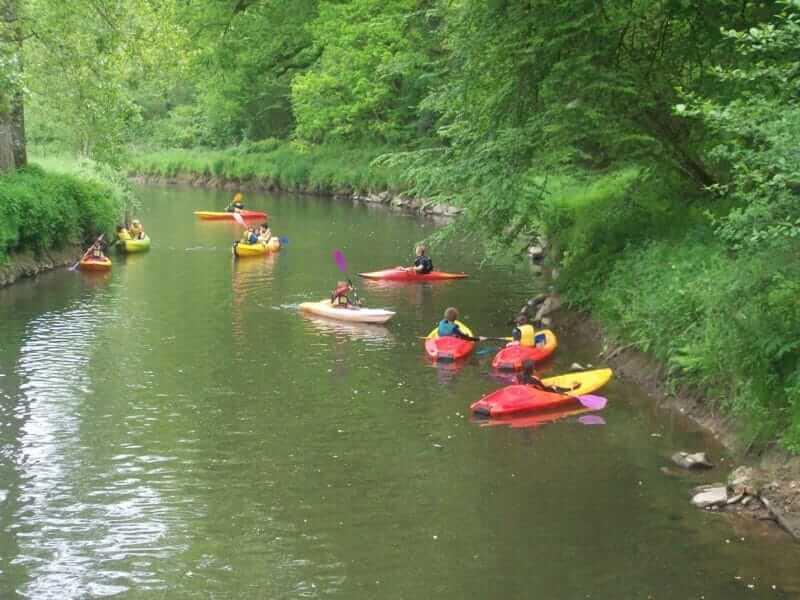 Kayak avec l'Ecole de sport Ecol'o plein air